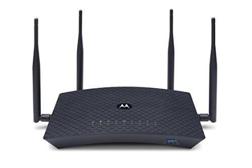Motorola AC2600 4x4 Wi-Fi Smart Router