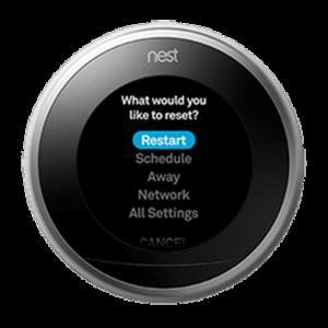 Reset Nest Thermostat