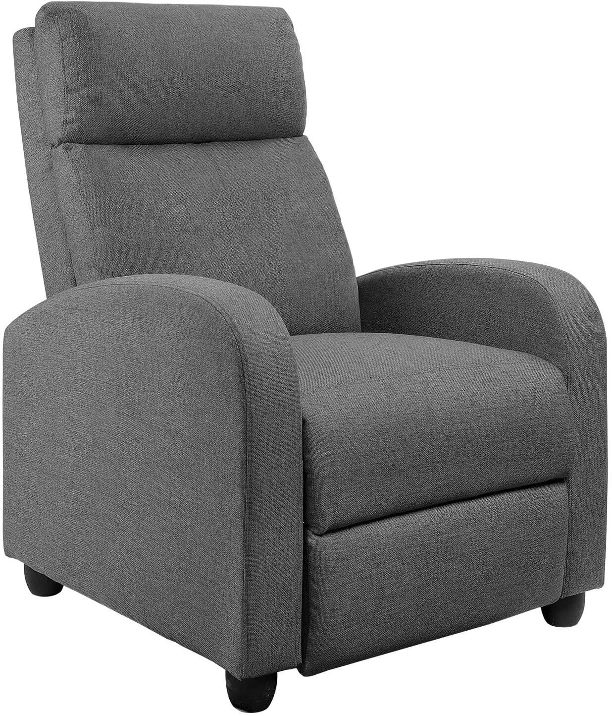 UMMICO Fabric Recliner Chair