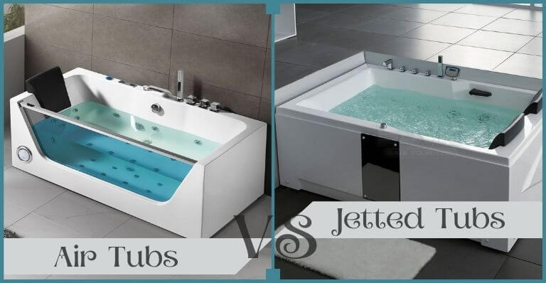 Air Tubs vs Jetted Tubs