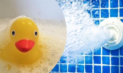 Water vs Air-jetted Bubble Bath
