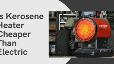 Is Kerosene Heater Cheaper Than Electric