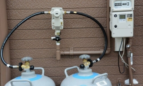 Multiple Propane Tank Connections