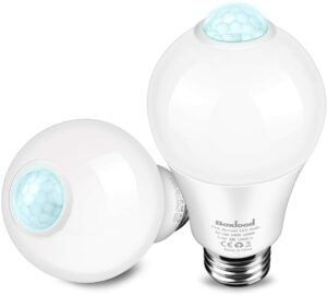Boxlood Indoor Movement Activated LED Bulbs