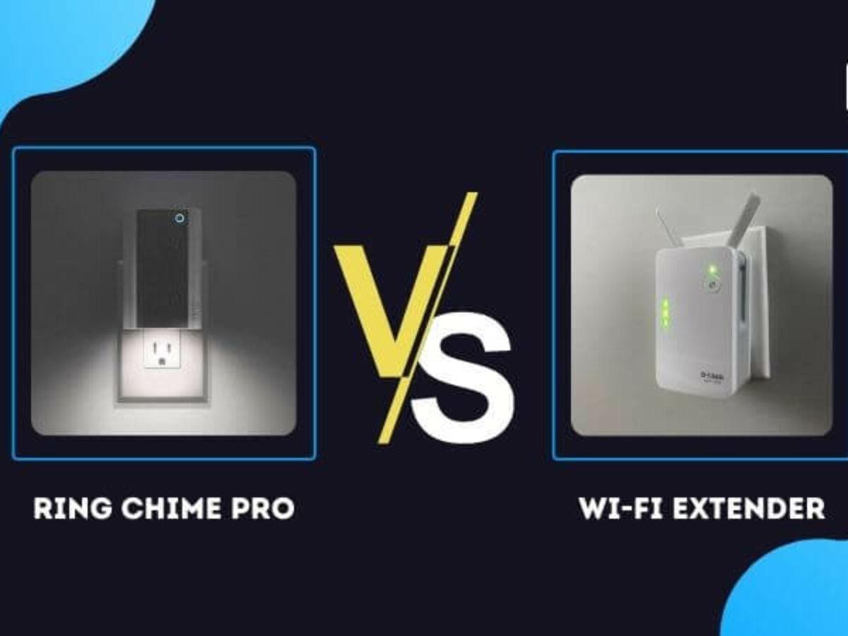 Ring Chime Pro vs Wifi Extender