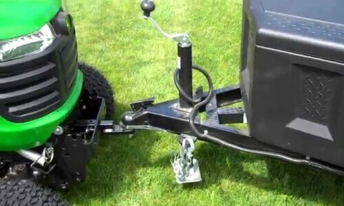 hitch body with your mower